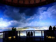 Panometer Ansicht von der Aussichtsplattform