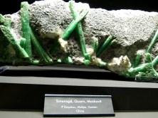 Smaragd Quarz und Muskovit