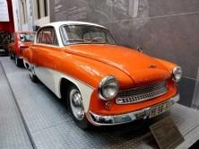 Altes Auto orange