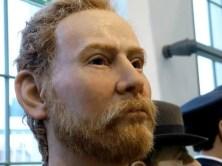 Gesicht mit Bart