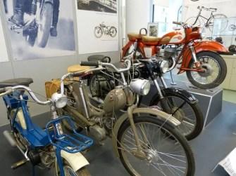 Ausstellung Motorräder