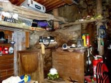 Rumpelkammer mit Ausrüstung