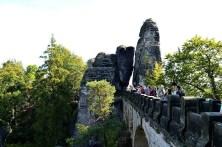 Basteibrücke mit Felsen Ausflugsziel