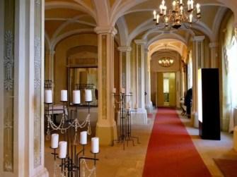 Halle Schloss Rammenau