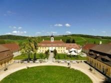 Innenhof Schloss Rammenau