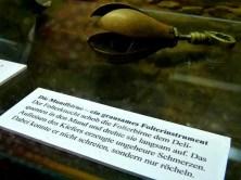 Mundbirne Folterwerkzeug Schloss Augustusburg