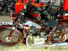 braunes altes Motorrad Augustusburg
