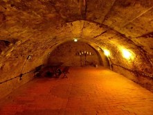 Kellergewölbe in der Burg Kriebstein