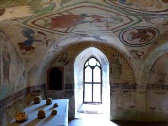 Wandmalerei Burg Kriebstein