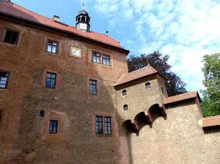 Außenansicht Burg Kriebstein