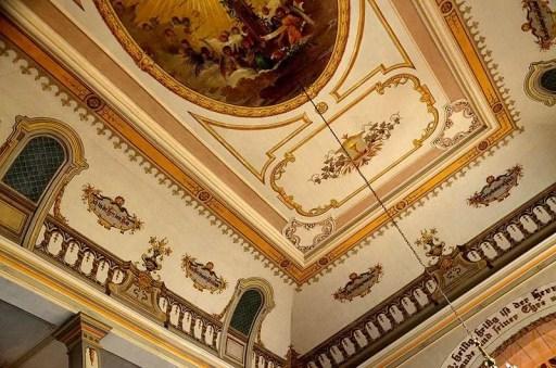 Deckenmalerei Burg Stolpen