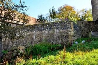 Alte Burgmauer Burg Stolpen