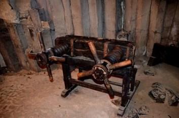 Maschine Folterkammer Burg Stolpen