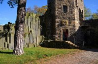 Eingang Burgturm