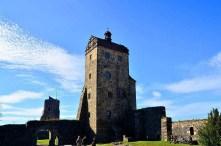 Außenansicht Burgturm