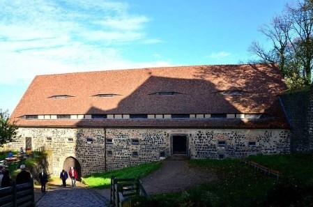 Außenansicht altes Gebäude