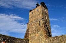 Alter Turm Burg Stolpen