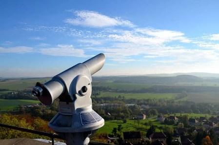 Fernglas Burg Stolpen