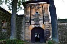 Eingang Burg Stolpen