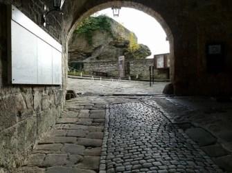 Eingang Tor Burg Hohnstein