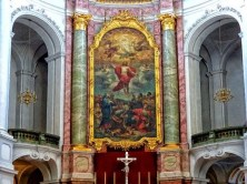Wandgemälde Innenraum Kirche