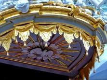 Goldverzierung Orgel