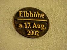 Pegel Jahrhunderhochwasser 2002