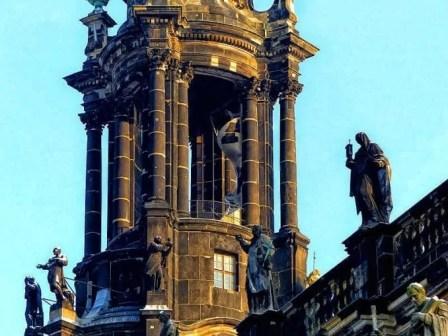 Turm der Hofkirche Dresden