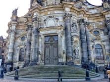 Frauenkirche Dresden Treppenstufen