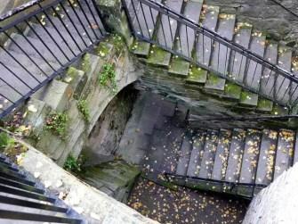 Treppe Burg Hohnstein