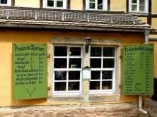 Speisekarte Zschoner Mühle Biergarten