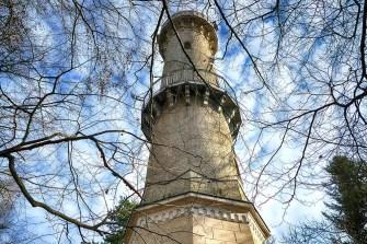 Koenig-Albert-Turm Weinböhla Außenansicht Geländer Plattform
