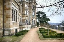 Treppe barocker Garten Elbe