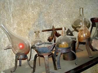 Chemie Glaskolben