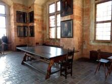 Speisesaal Holztisch Gemälde