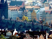 Karlsbrücke Touristen Altstadt