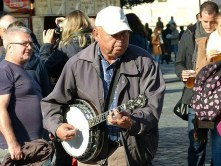 Prag Museum Musiker Markt
