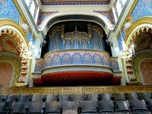 Prag Kirche mit Orgel