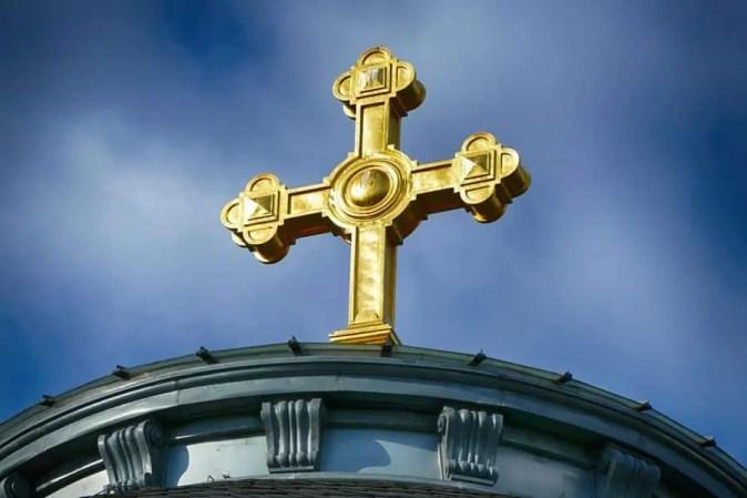 Goldenes Kreuz Urnenhain Tolkewitz Krematorium