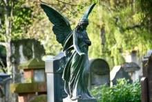 Engel Urnenhain Tolkewitz Krematorium