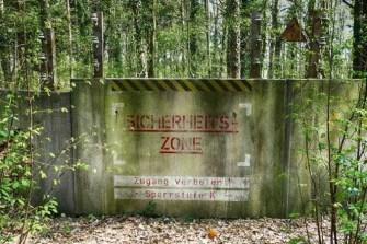 Sicherheitszone vom Saurierpark
