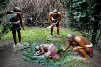Beerdigung in der Steinzeit