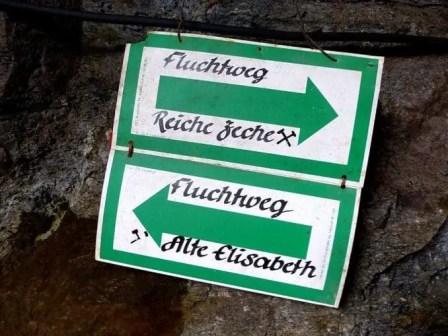 Bergwerk Fluchtweg Reiche Zeche Freiberg
