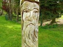 Holzfigur Zschopau