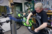 Fahrrad Reparatur Werkstatt Dresden