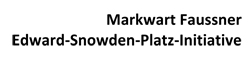 Dresden hat jetzt einen Edward-Snowden-Platz - Deutschlandweit erste derartige Würdigung des Whistleblowers