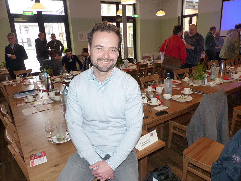 Sören Metzger, Chapterdirektor beim Georgius Agricola. Bildquelle: meeco Communication Services