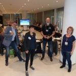 v.l.n.r. BNI-Regionaldirektor Jens Fiedler mit dem neuen Führungsteam des BNI-Chapters Konrad der Große Julia Meyer, Andreas Alexander Müller und Diana Kießling