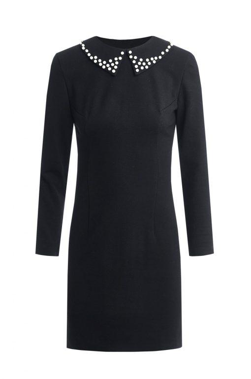 Dressarte-organic-cotton-mini-black-dress