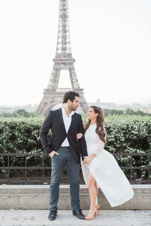 Custom-made wedding dress